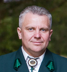 Strażnik Łowiecki Jacek Cieśliński